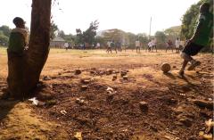 Sunday Afternoon Football Match