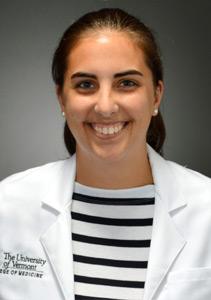 uvmmedicine blogger Holly Bachilas '19