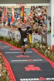 Caleb Knight '20 during the Ironman competition in Kona, Hawaii