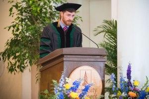 Class Speaker Dylan Devlin, M.D.'17