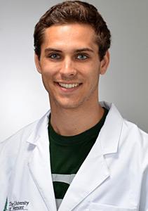 uvmmedicine blogger Scott Mitchell II '20