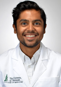 uvmmedicine blogger Harshal Athalye '20