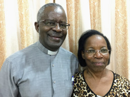 Dr. Samuel Luboga and Christine Luboga