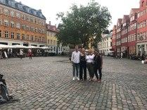 Larner College of Medicine students in Copenhagen